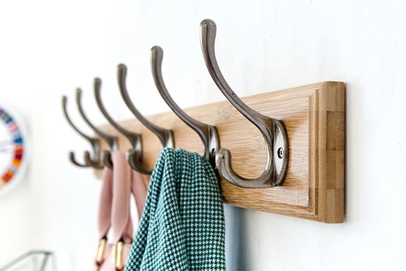 Interior design ideas coat rack