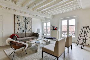 Architecture and decor for the living room
