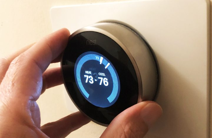 Replace your old thermostat with a new smart one