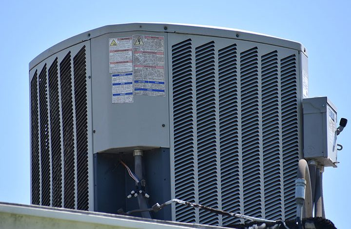 hvac inspection for a roof split system unit